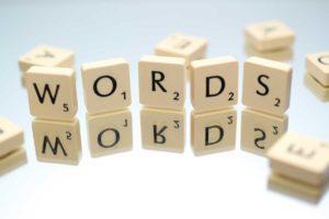alphabet blocks spell the word